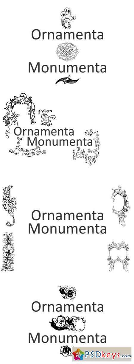 Ornamenta Monumenta Font
