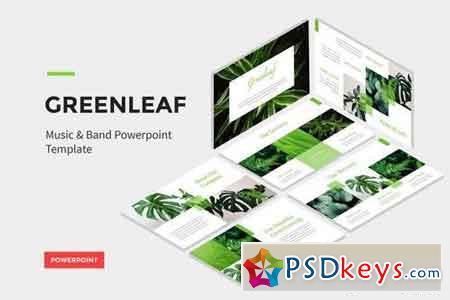 Greenleaf - Green Energy - Powerpoint, Keynote, Google Sliders Templates
