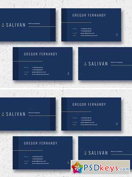 Salivan Business Card Template