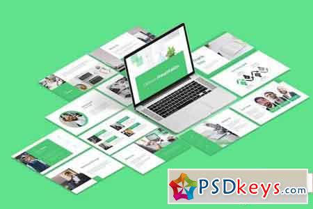 Delince Creative - Powerpoint, Keynote, Google Sliders Templates