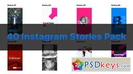 40 Instagram Stories Pack 163577 After Effects Projects