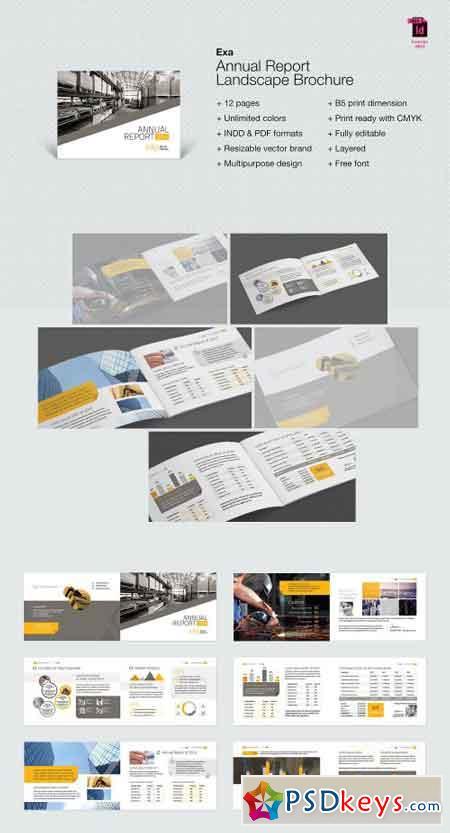 Exa Landscape Annual Report Brochure