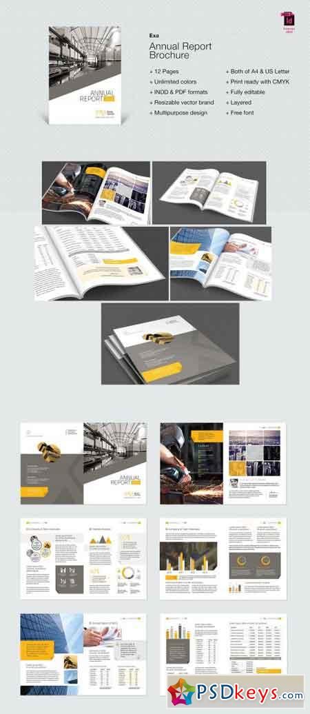 Exa Annual Report Brochure