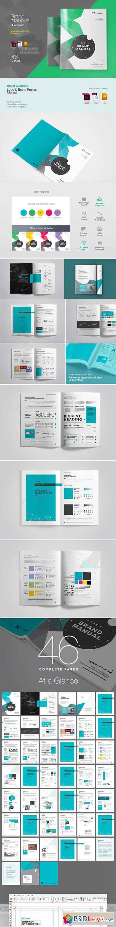 Brand Guideline Brochure 3370193