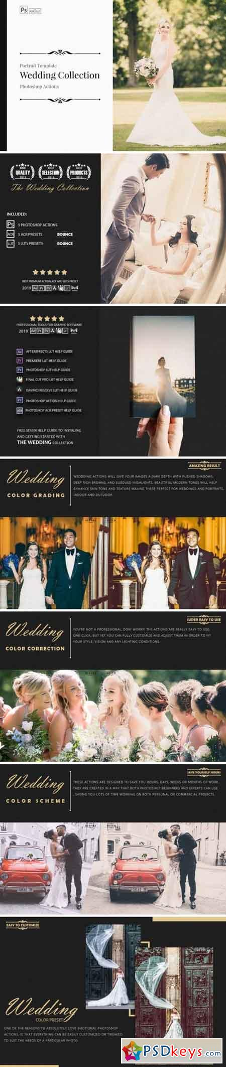 Neo Wedding Color Grading photoshop actions