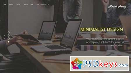 Minimalism Corporate Presentation 165058 After Effects Projects