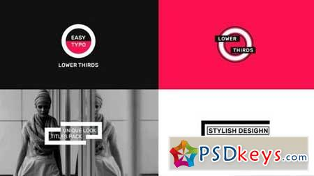 Typography Titles Pack 165306 After Effects Projects