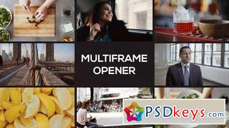 Modern Multiframe Opener 165123 After Effects Projects