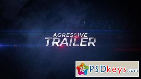 MotionArray Aggressive Trailer 165010 After Effects Project