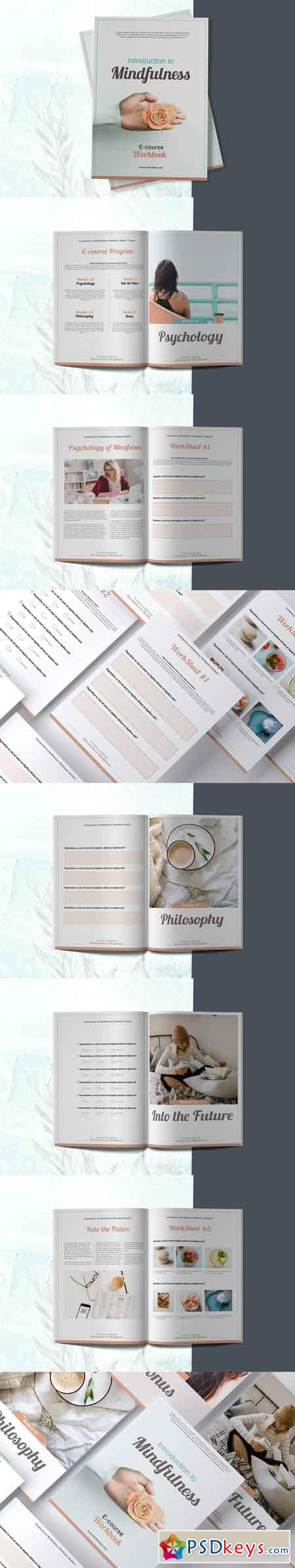 E-course Workbook Opt-in Template 3367363