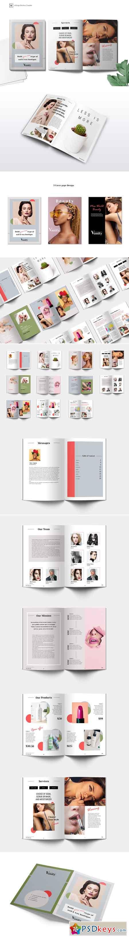 Vanity Brochures Template 3388370