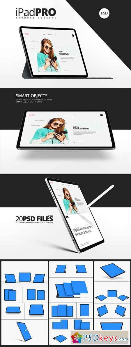 All New iPad Pro Mockups 3327847