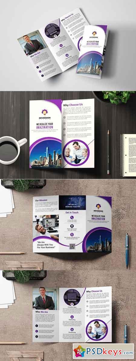 Corporate Trifold Brochure Design 3309907
