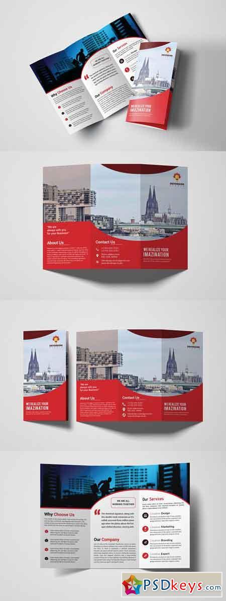 Corporate Trifold Brochure Design 3309890