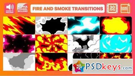 Fire And Smoke Transitions 165929 After Effects Projects