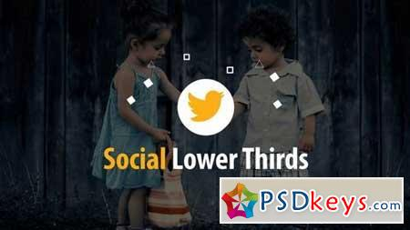 Social Lower Thirds 165435 After Effects Projects