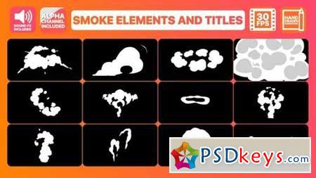Smoke Elements And Titles 165383 After Effects Projects