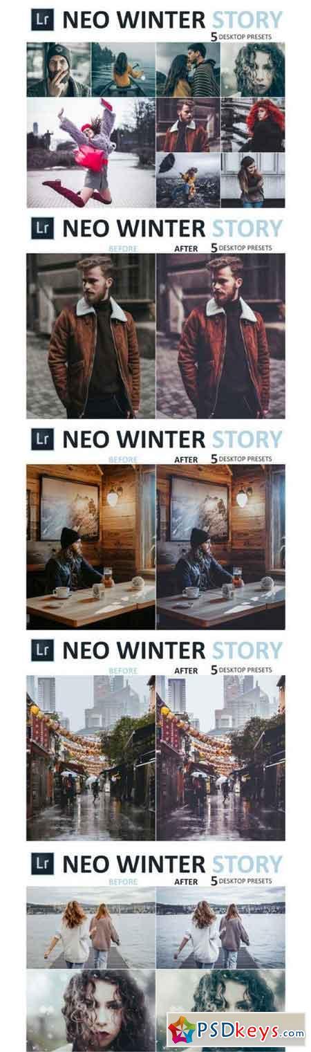Neo Winter Story Desktop Lightroom Presets 3524664