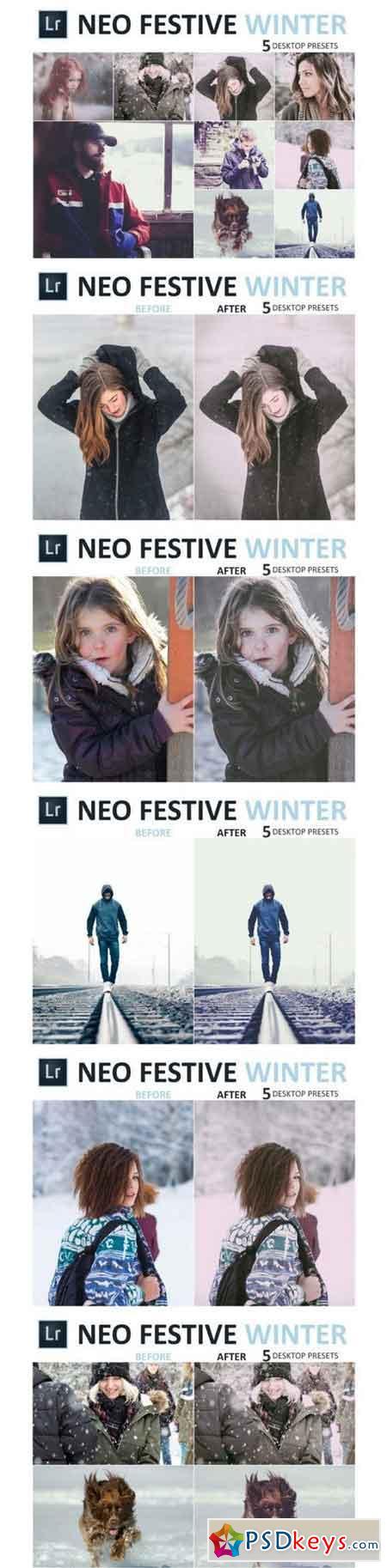 Neo Festive Winter Desktop Lightroom Presets 3524672