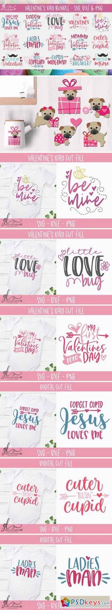 Valentine's Day SVG Bundle