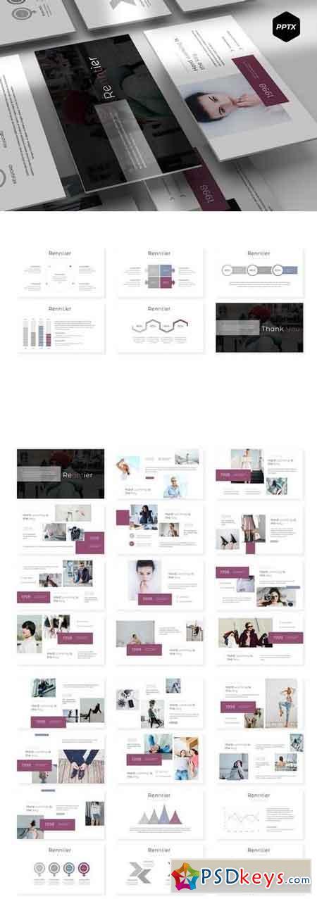 Renntier - Powerpoint, Keynote, Google Sliders Templates