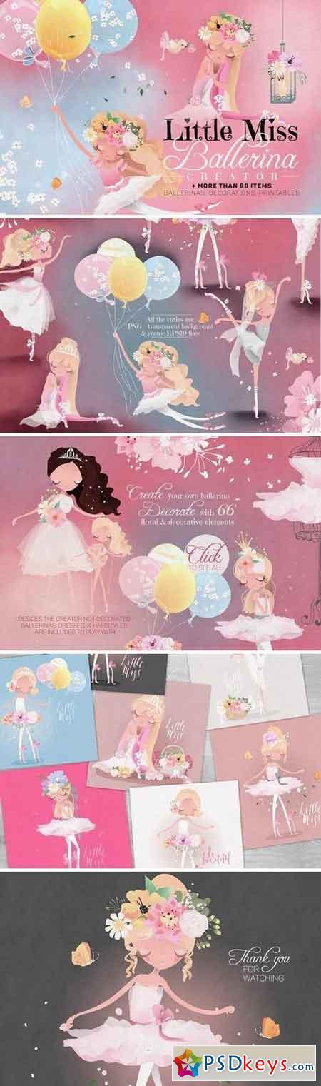 Little Miss Ballerina Creator 2280418