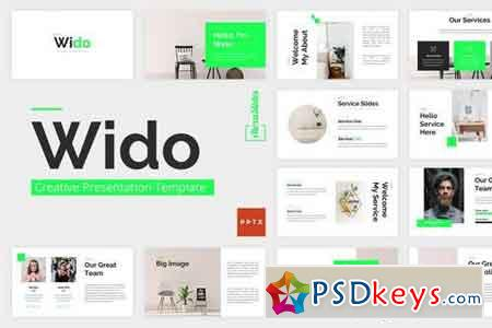 Wido - Creative Powerpoint - Powerpoint and Keynote Template