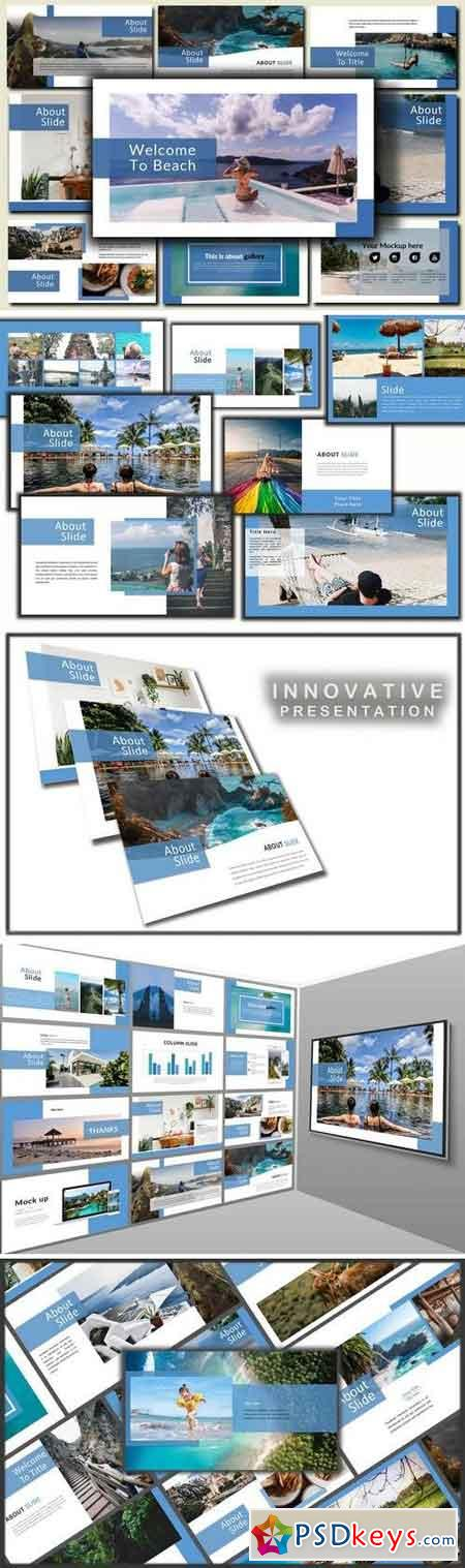 Holiday - Powerpoint, Keynote, Google Sliders Templates