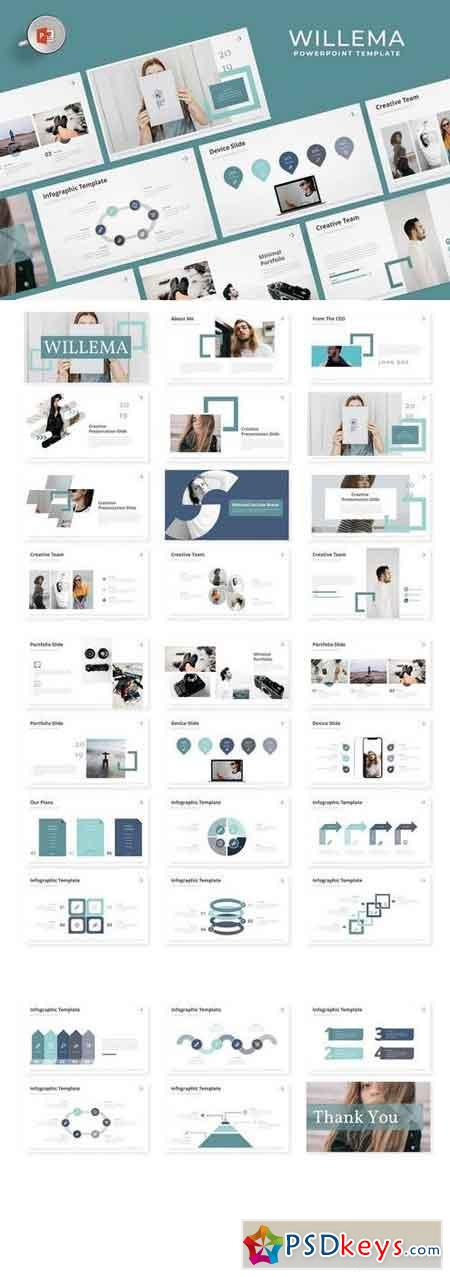 Willema - Powerpoint, Keynote, Google Sliders Templates