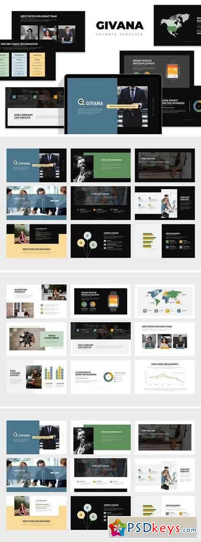 Givana Creative Industry Profile Keynote