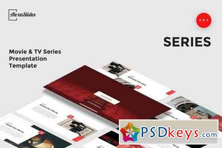 Series - Movie - Agency Powerpoint and Keynote Template