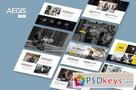 AEGIS - Agency Powerpoint and Keynote Template