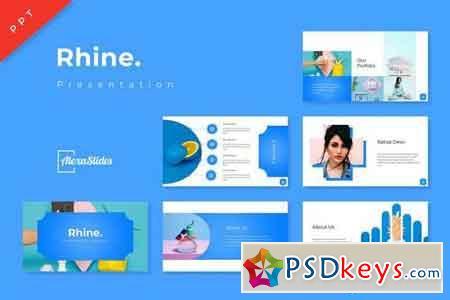 Rhine - Powerpoint, Keynote, Google Sliders Templates