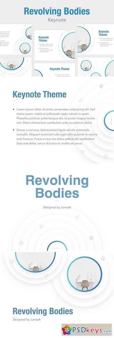 Revolving Bodies Keynote Template