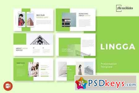 Lingga - Creative - Agency Powerpoint and Keynote Template