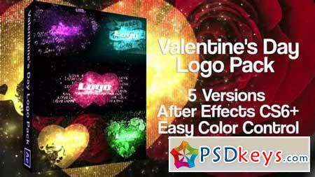 Valentine's Day Logo Pack 163459 After Effects Projects
