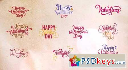10 Valentines Titles 166342 After Effects Projects