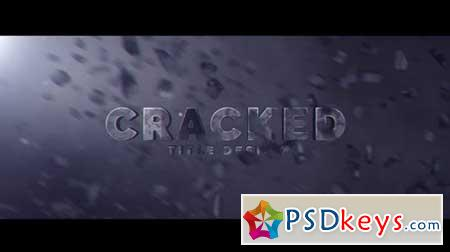 Cracked Title Design 166224 After Effects Projects
