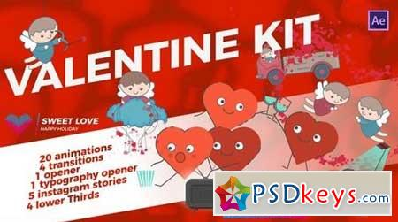 Valentine`s Day Kit 166829 After Effects Projects