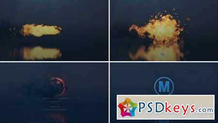 Fire Explode Logo 163512 After Effects Projects