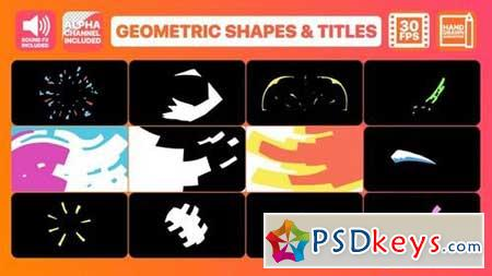 Geometric Shapes And Titles 163463 After Effects Projects
