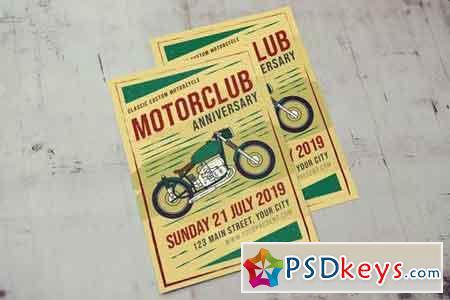 Classic Motorclub Flyer