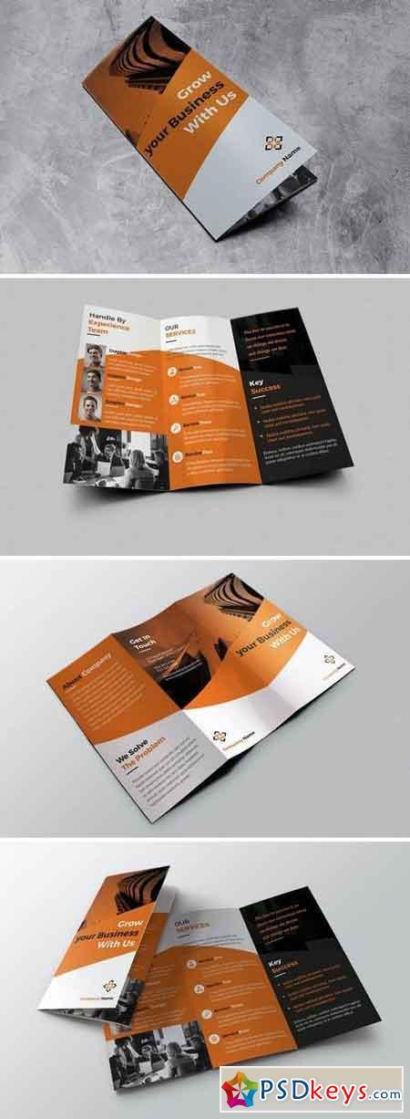 Grow Trifold Brochure