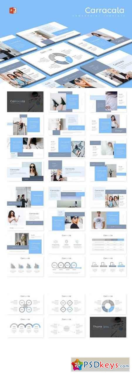 Carracala - Powerpoint, Keynote, Google Sliders Templates