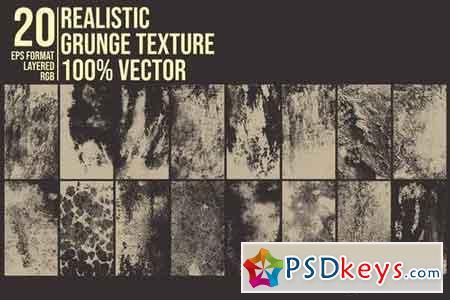 Rusty Wall Texture Vector eps