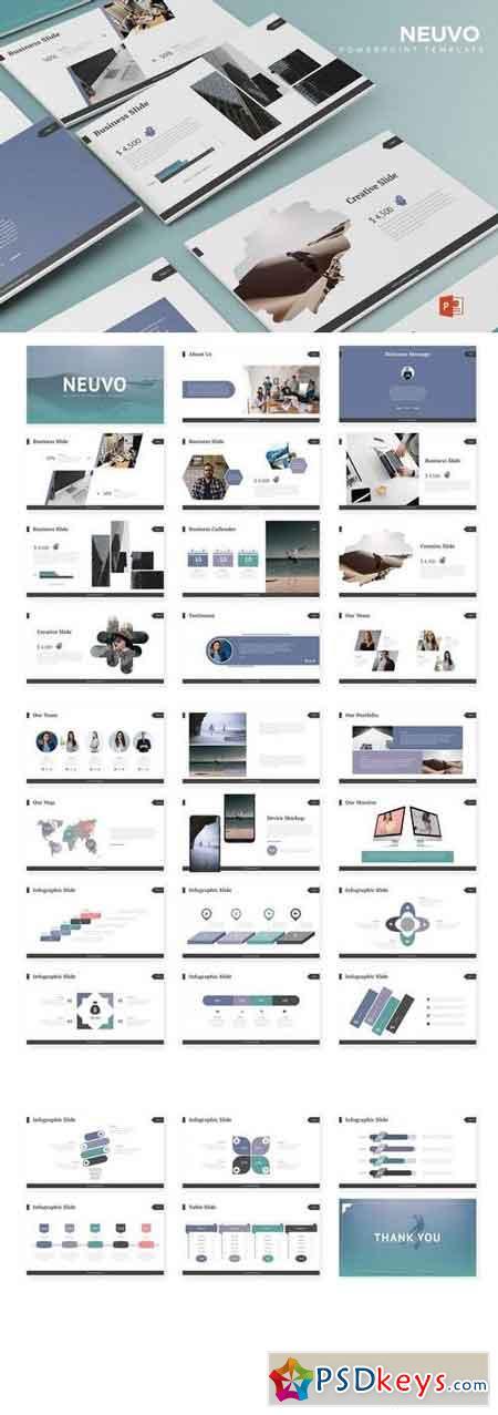 Neuvo - Powerpoint, Keynote, Google Sliders Templates