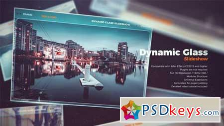 Dynamic Glass Slideshow 22174113 After Effects Projects