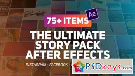 The Ultimate Story Pack 23087236 After Effects Projects