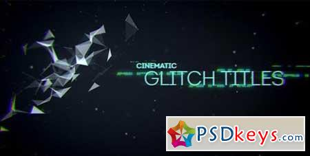 Videohive Cinematic Glitch Titles 9452710 After Effects Projects