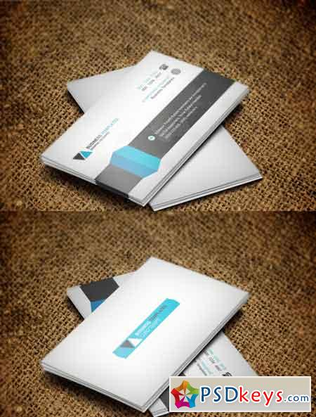 Corporate Business Card Template 3523266